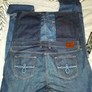 Lucky brand Jean's bundle, size 20.